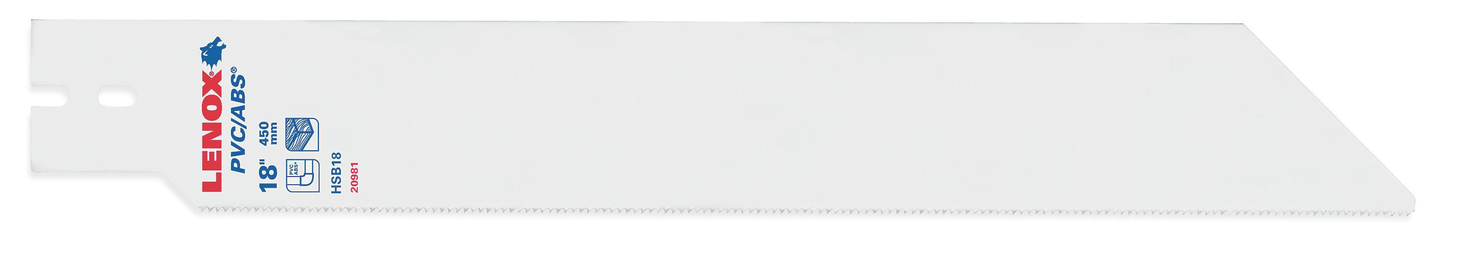 2 New Flush Cutting Blade Adaptor Lenox 20987