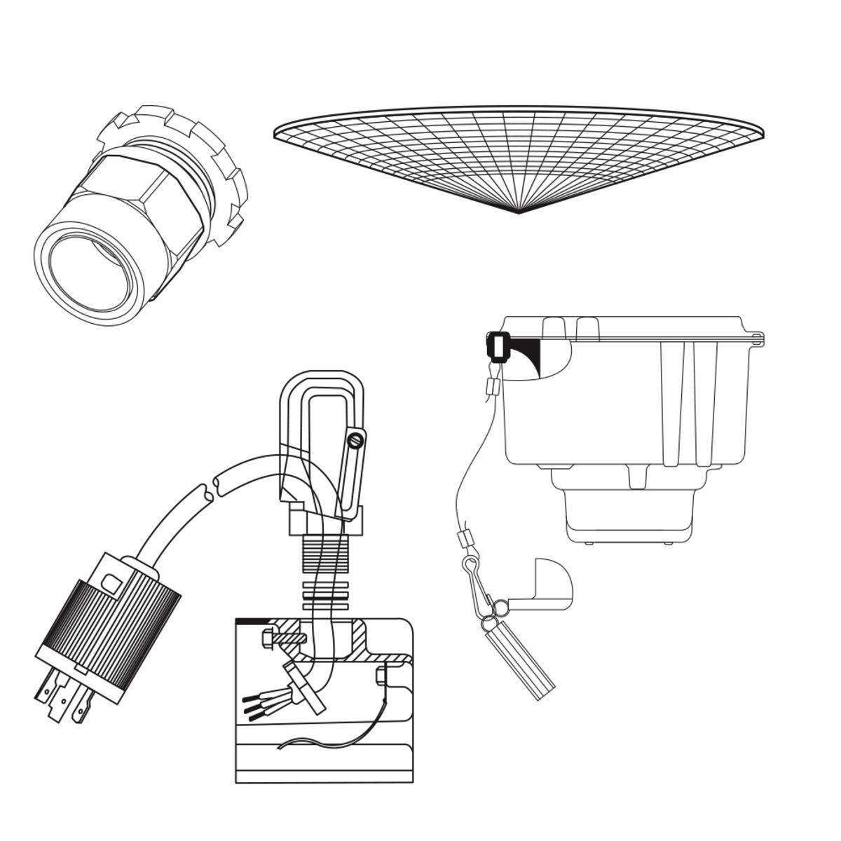 Hubbell® Industrial Lighting HOOKLOOP
