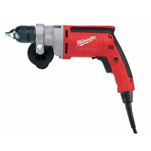 Milwaukee® 0300-20 Magnum™ Grounded Heavy Duty Electric Drill, 1/2 in Keyed Chuck, 120 VAC, 0 to 850 rpm Speed, 12-13/64 in OAL, Tool Only