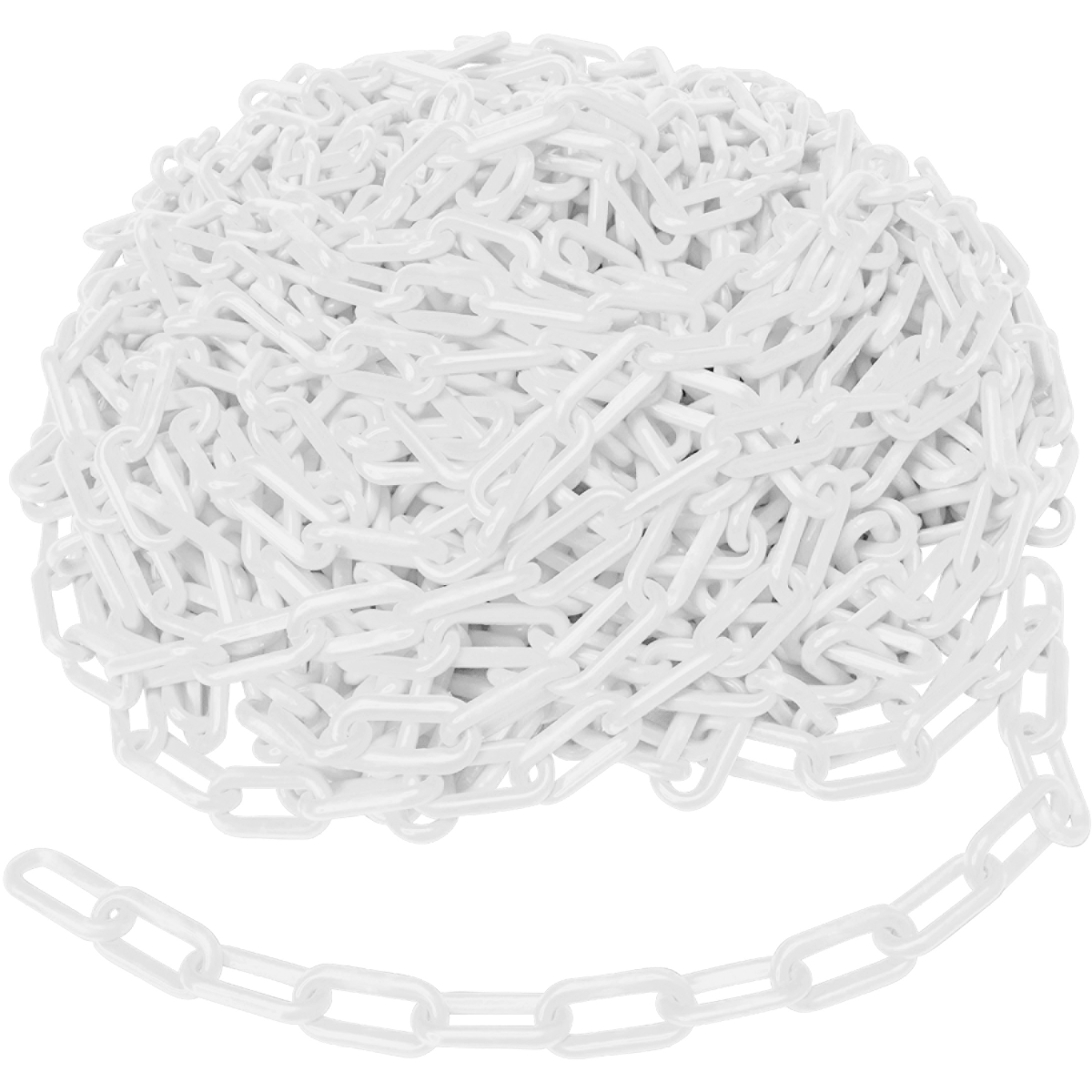 Brady® BradyLink® 78234 Warning Chain, 1-1/2 in, 100 ft L, Yellow, B-900 Polyethylene