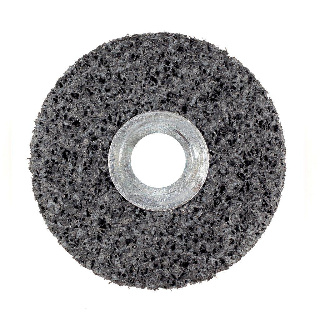 Scotch-Brite™ 048011-00958 Non-Woven Clean and Strip Deburring Disc, 8 in Dia, Very Coarse Grade, Silicon Carbide Abrasive