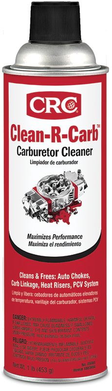 CRC® 05061 Combustible Fuel Injector and Carburetor Cleaner, 12 oz Bottle, Petroleum Odor/Scent, Light Amber, Liquid Form