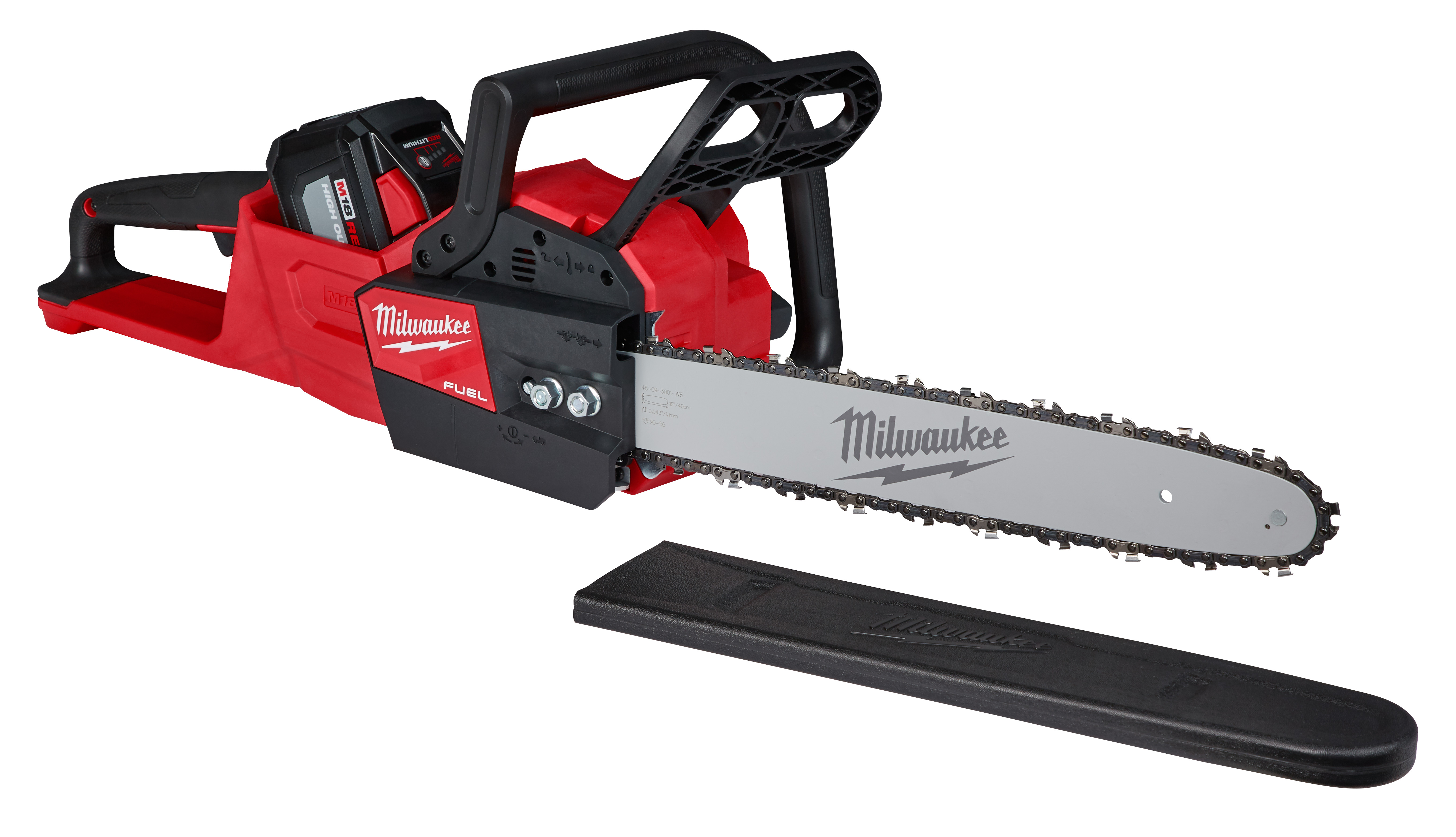 Milwaukee® 2527-21 M12™ FUEL™ HATCHET™ Cordless Rust-Resistant Pruning Saw Kit, 6 in Bar L Bar/Chain, 12 V, 4 Ah Lithium-Ion Battery