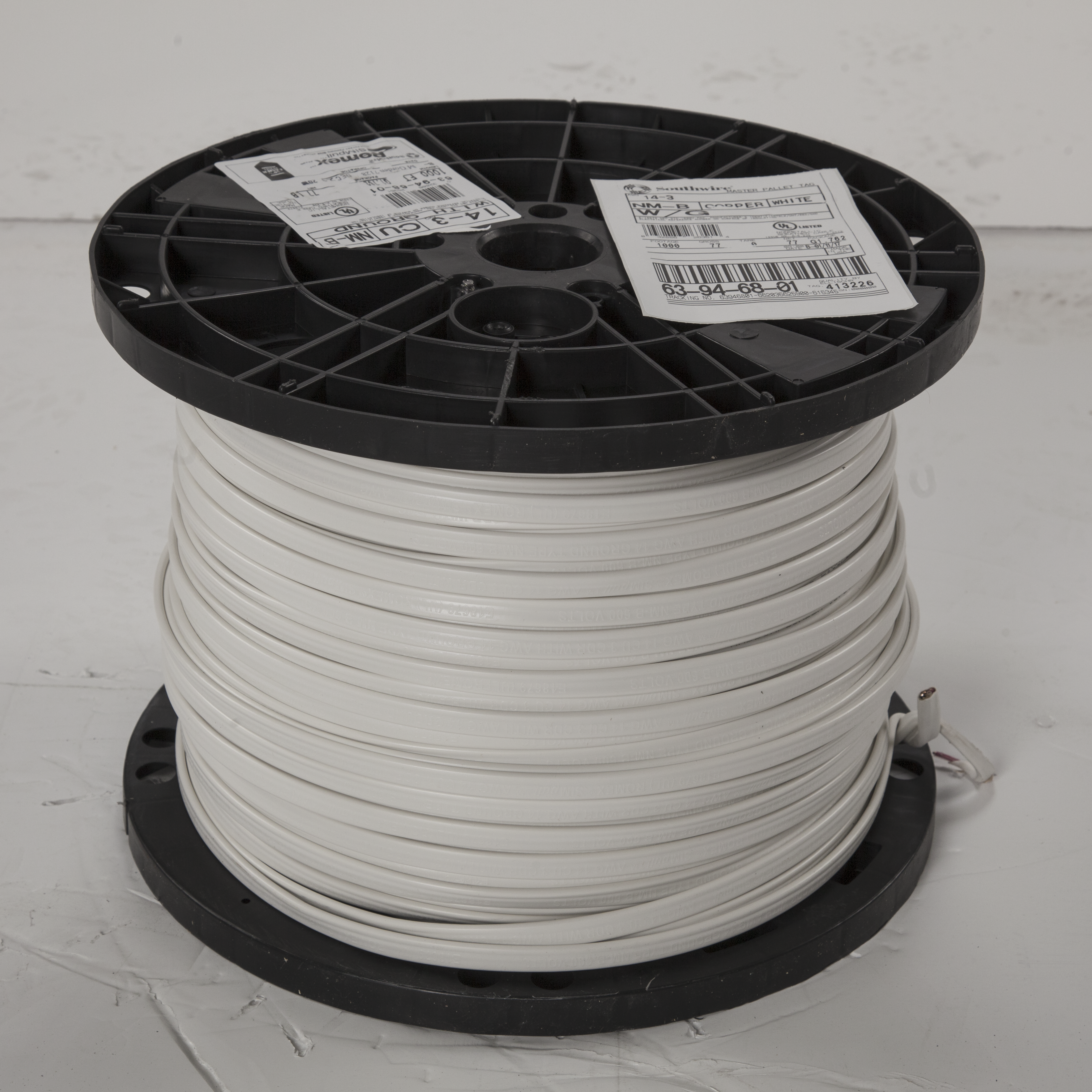 Wire & Cable CUNMB 14/3 W/GRD 1000' REEL