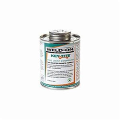 Weld-On® 505 Key Tite™ 10068 Metal Pipe Sealant With Brush in Cap Applicator, 0.5 pt Can, Dark Green