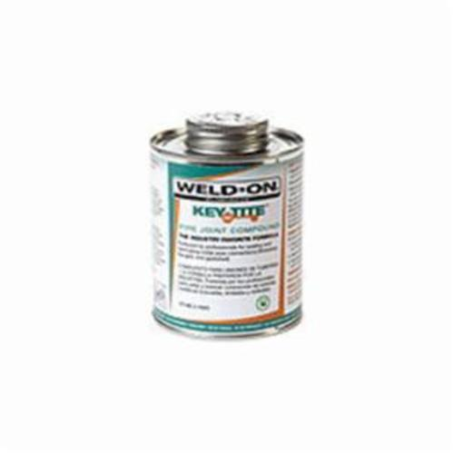 Weld-On® 505 Key Tite™ 10069 Low VOC Pipe Joint Compound, 0.25 pt Brush In Cap Can, Dark Green