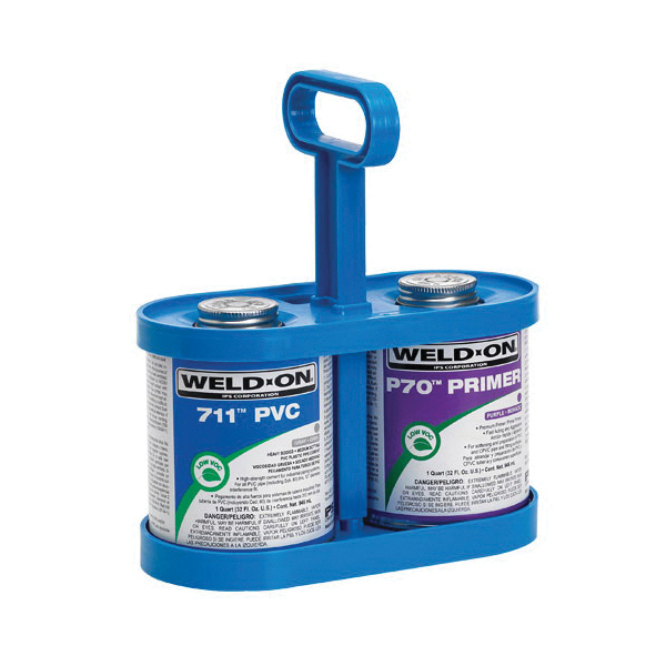 Weld-On® CanTote™ 12891 Cement and Primer Carrier, For Use With Quart and Pint Cement Can