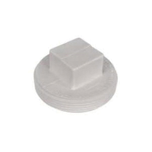 AB&A 3054RA ABS 4 inch Plastic Square Head Cleanout Plug
