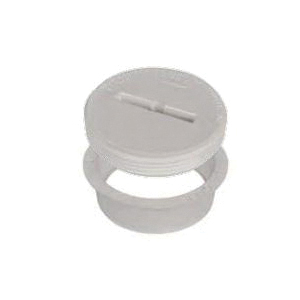 AB&A™ 68502 Quick-Fit Cleanout Fitting With Countersunk Plug, For Use With 4 in SCH 40 DWV Pipe, ABS, Domestic