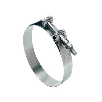 Oetiker® 10100016 2-Ear Crimp Hose Clamp, 1/2 in Nominal, 0.425 in Closed Dia x 0.512 in Open Dia x 0.0394 in THK, Steel, Import
