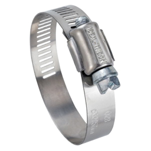 Tridon® 57080 Hy-Gear® 57-0 General Purpose Hose Band Clamp, 7/16 to 1 in Nominal, 200 Stainless Steel
