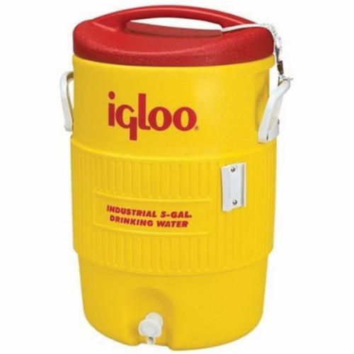 Igloo® 4101 400 Beverage Cooler, 10 gal Capacity, Yellow
