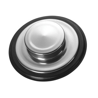 Insinkerator® 08300D Sink Stopper, For Use With All InSinkErator Manufactured Disposer, Stainless Steel