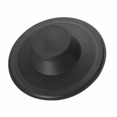 Insinkerator® 08306D Sink Stopper, For Use With All InSinkErator Manufactured Disposer, Plastic, Black