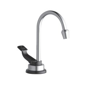 Insinkerator® HOT-1 Instant Hot Water Dispenser Faucet, Polished Stainless Steel, 1 Handle, Side Spray(Y/N): No