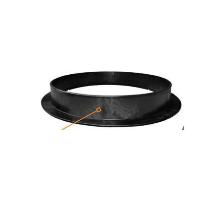 INFILTRATOR® TWPAR-24 Pipe Adapter Ring, For Use With TW-Series 24 in Septic Tanks