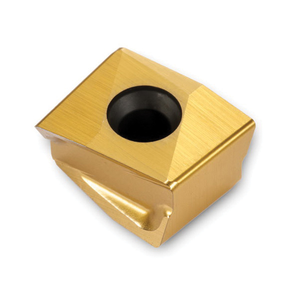 Ingersoll GOLD-MAX4™ 2900688 Multi-Purpose Milling Insert, DGM Insert, 314 Insert, Carbide, Manufacturer's Grade: IN4030, Rhombic Shape