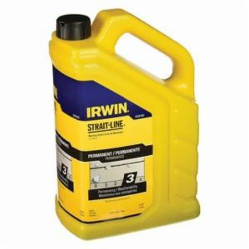 Irwin® Strait-Line® 2031314DS MACH6™ Heavy Duty High Speed Refillable Chalk Line Reel, 100 ft L Nylon/Polyester Line, 2 oz Chalk, EZ Access Door, Retractable Self-Locking Handle