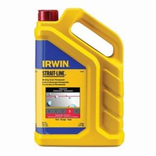 Irwin® Strait-Line® 65101ZR Standard Temporary Marking Chalk, Blue, 5 lb, Container