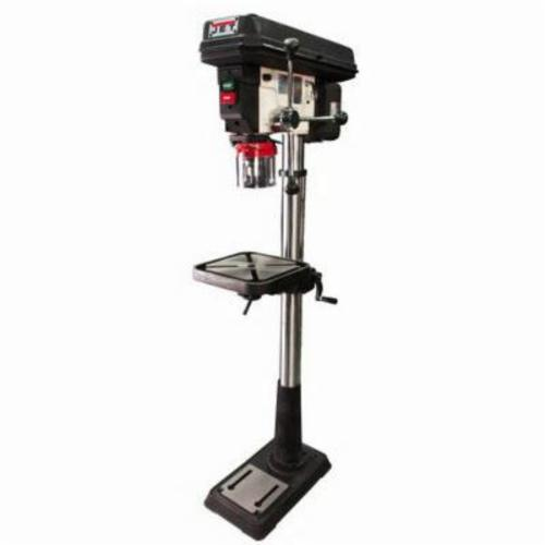 JET® J-2500, 0.75 hp, 115/230 VAC, 5/8 in Chuck, 15 in Swing, 11-1/2 in L x 11-1/2 in W Table