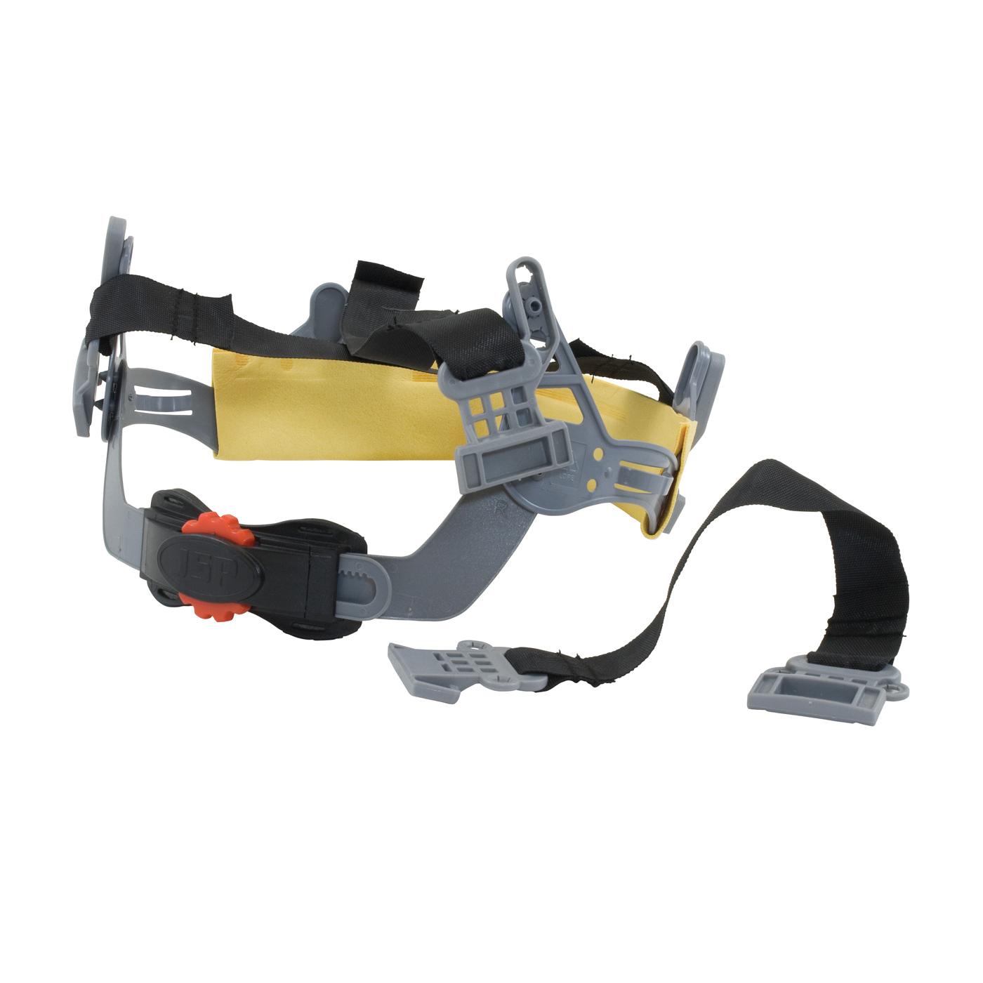 JSP® 251-01-6225 Surefit™ Hard Hat Adapter, For Use With JSP® Surefit™ Safety Visors and Surefit™ Contour Ear Muffs, Clear