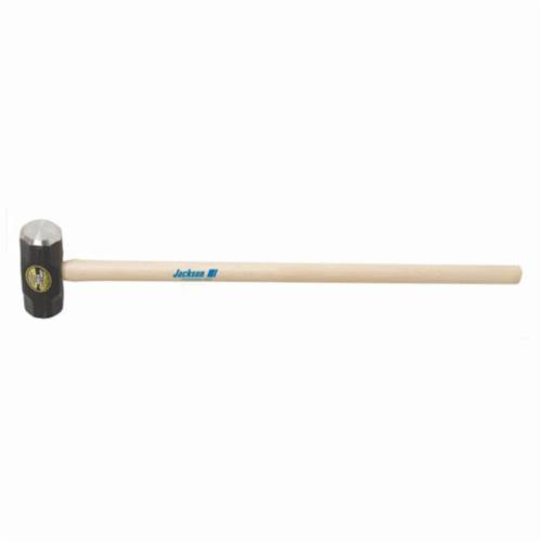 Jackson® 1196300 Engineer Sledge Hammer, 16 in OAL, 3 lb Forged Steel Head, Hickory Wood Handle