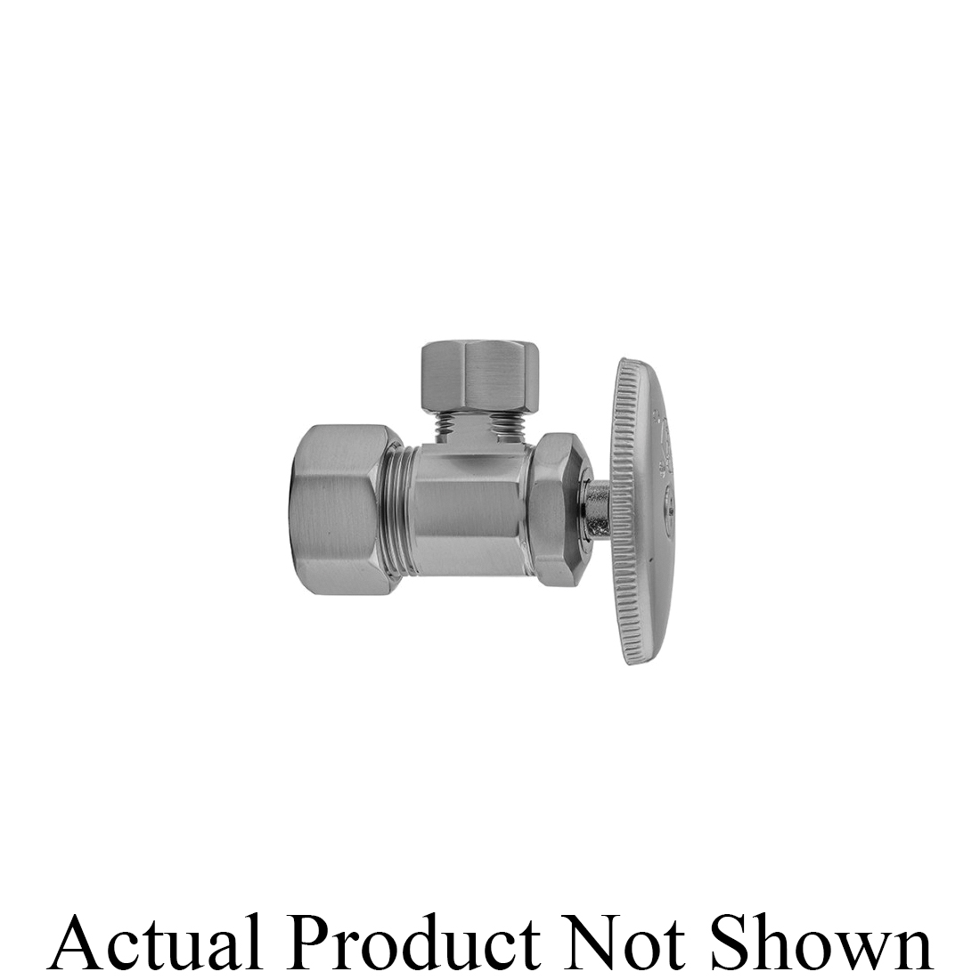 Jaclo® 5812-ORB Supply Valve With Oval Handle, 5/8 x 3/8 in Nominal, Compression, Brass Body, Oil Rubbed Bronze