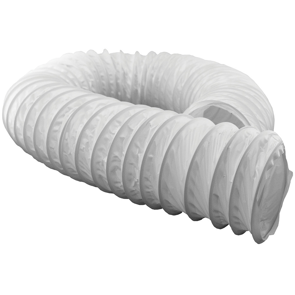 Jones Stephens™ D04020 Dryer Vent Hose, 20 ft L, Vinyl, Domestic