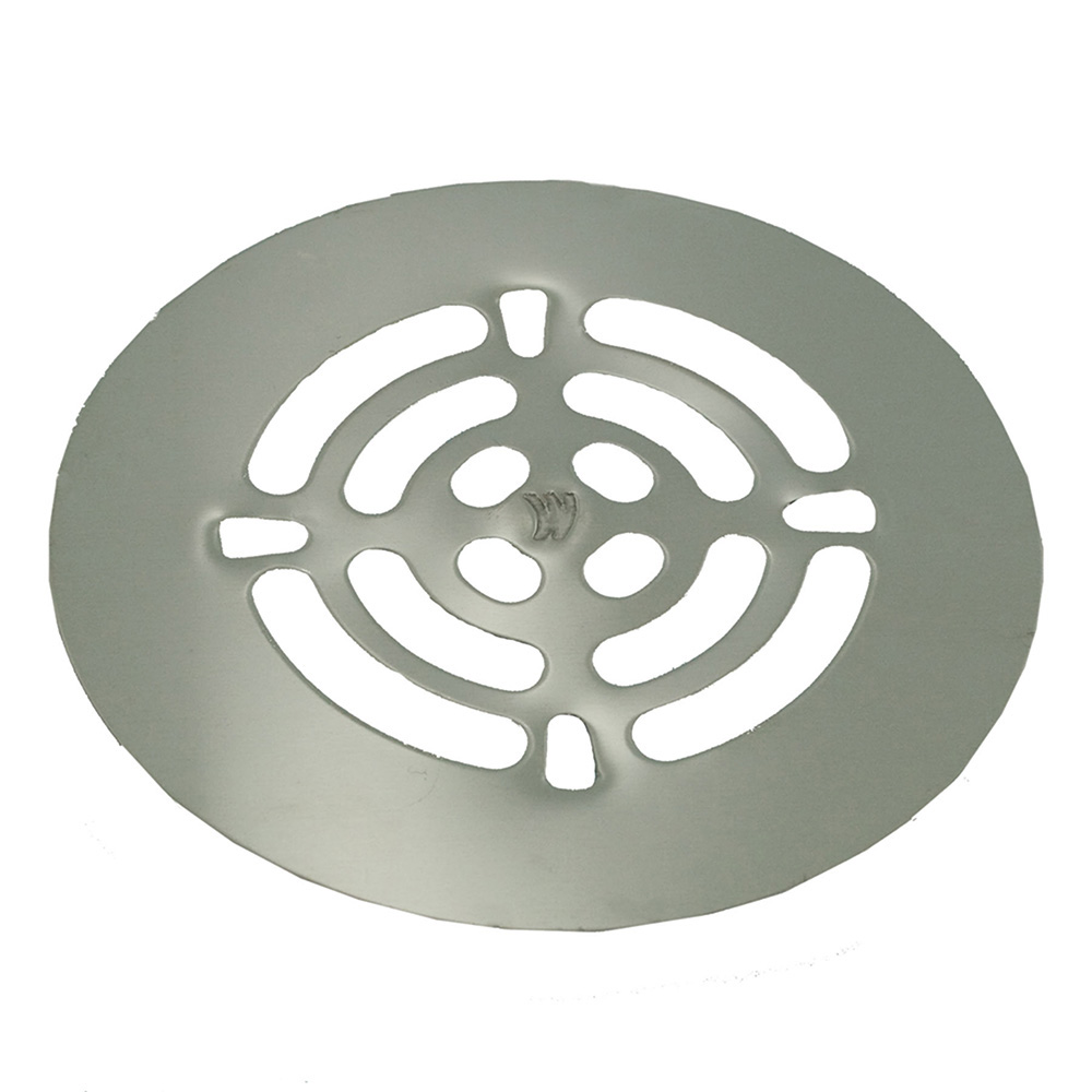 Jones Stephens™ D41103 Snap-In Replacement Strainer, 4-1/4 in Dia Nominal, Stainless Steel, Stainless Steel