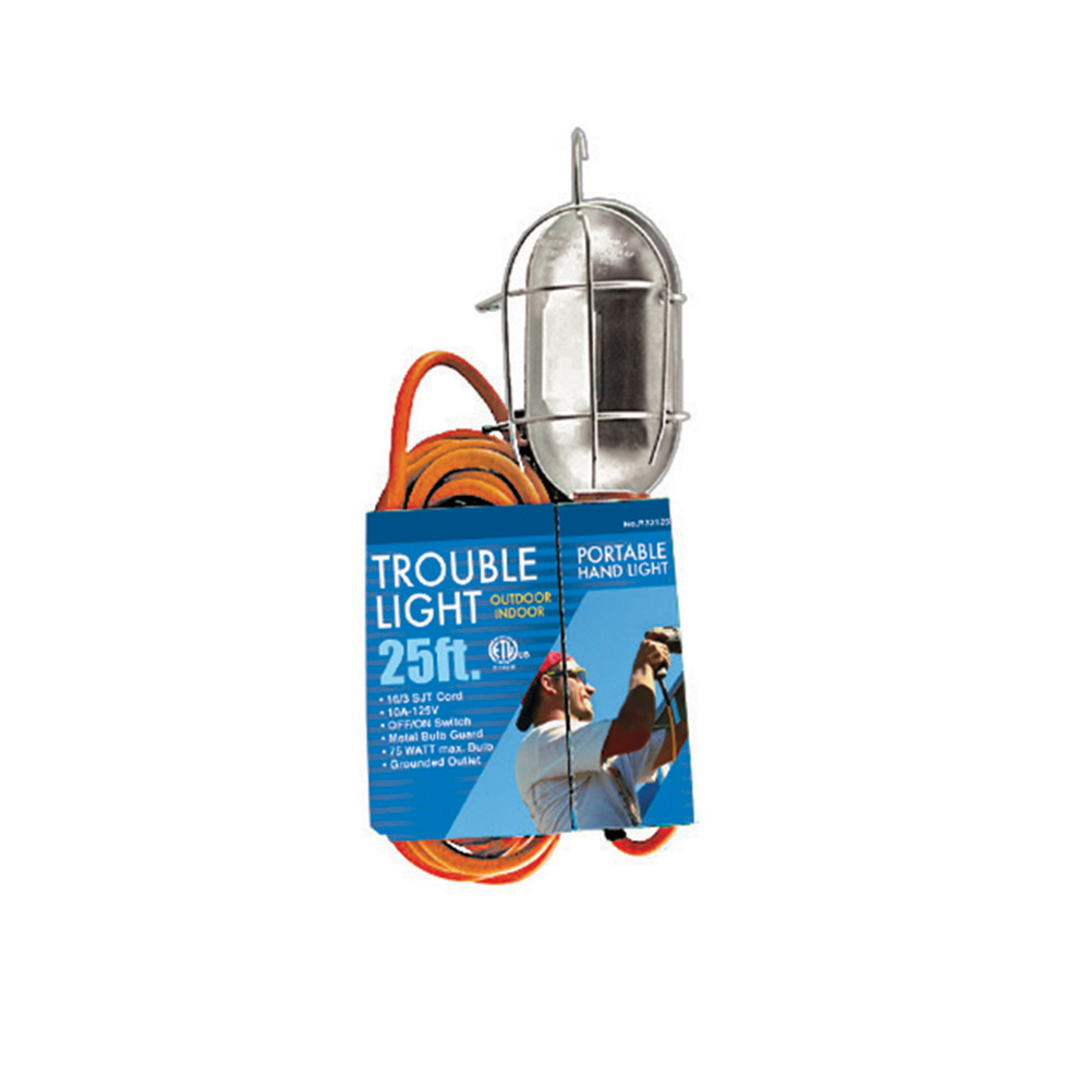 Jones Stephens™ E25021 Trouble Light With Metal Cage