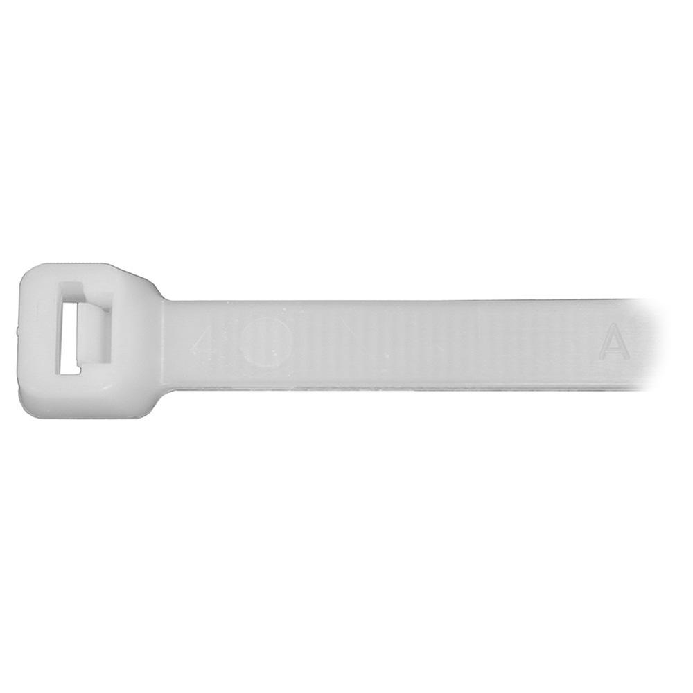 Jones Stephens™ J40107 Regular Cable Tie, 7 in L, Nylon, Natural