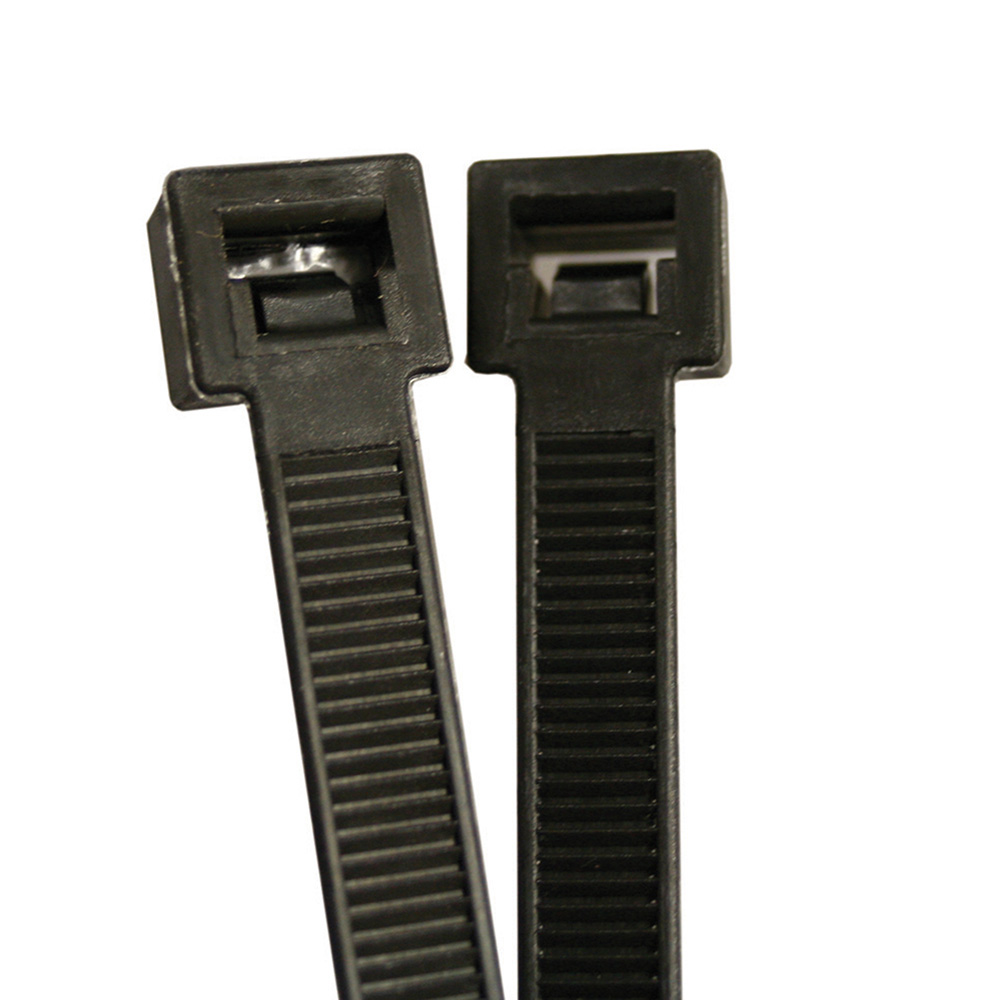 Jones Stephens™ J40115 Cable Tie, 15 in L, Nylon, Black