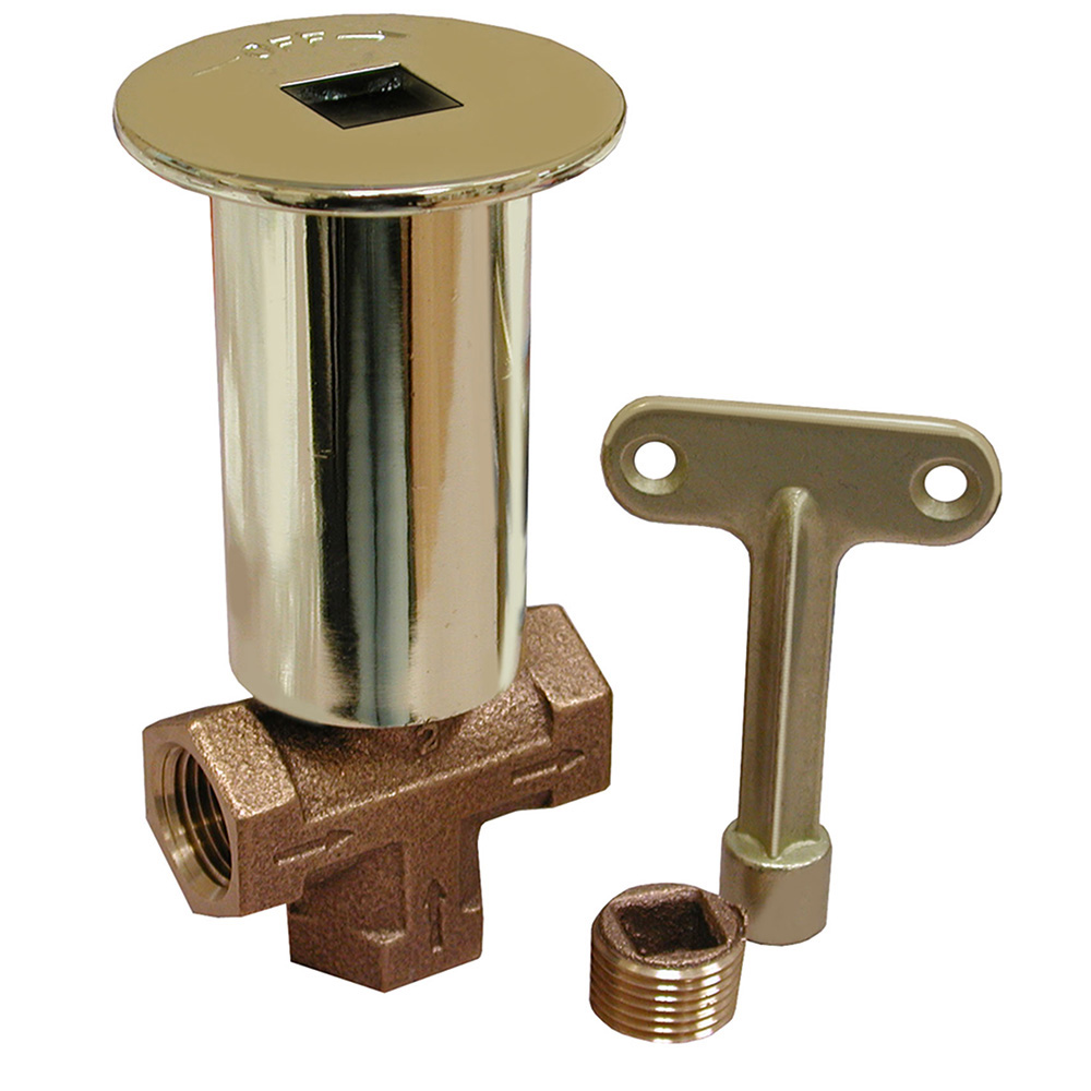 Jones Stephens™ L75010 2-Way Combo Log Lighter Valve, 5/16 in Key