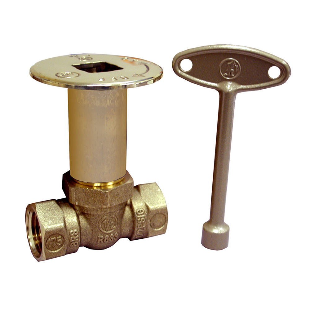 Jones Stephens™ L75043 Straight Pattern Log Lighter Ball Valve