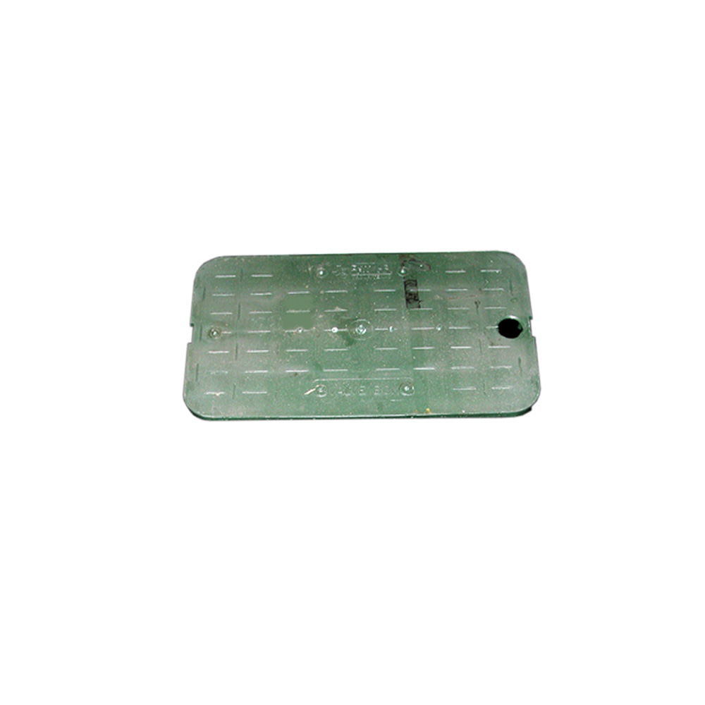 Jones Stephens™ M06002 Snap-In Lid, For Use With 10 in Economy Meter Box, Green, Domestic