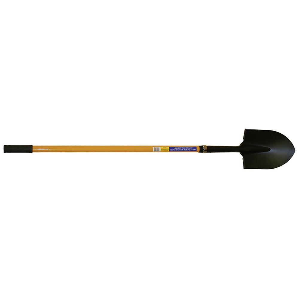 Jones Stephens™ S49400 Fiberglass Shovel, 10 in L x 8-1/8 in W, 4 ft Handle Length