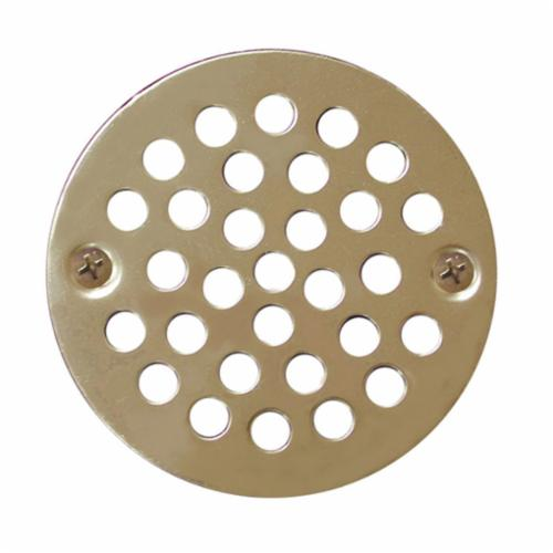 Jones Stephens™ C60809 Round Coverall Strainer, 4 in Nominal, Stainless Steel