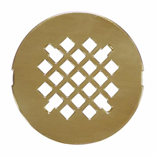 Jones Stephens™ D40003 Snap-In Replacement Strainer, 4-1/4 in Nominal, Polished Brass