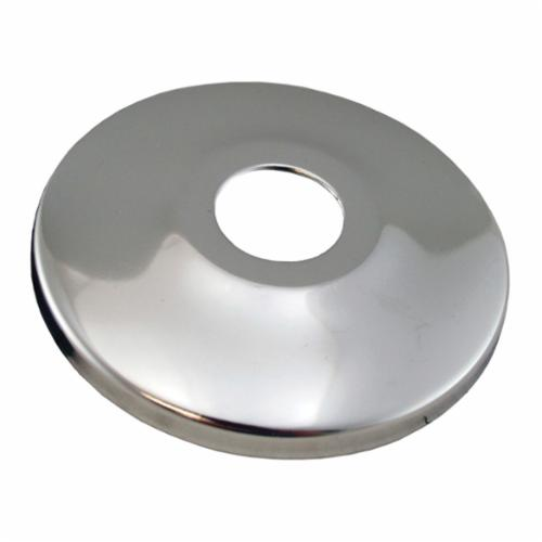 Jones Stephens™ Sure Grip™ E01050 Low Pattern Escutcheon, 2-1/2 in OD, Steel, Polished Chrome