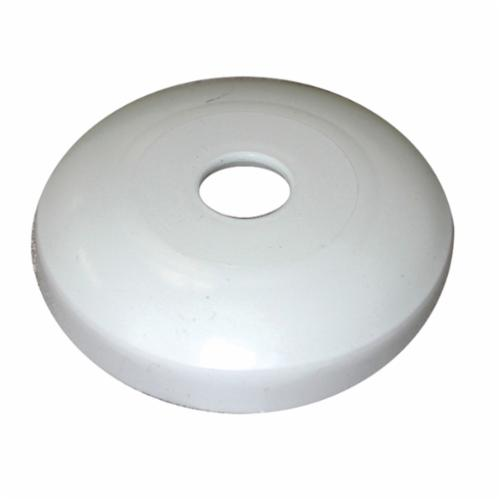 Jones Stephens™ E16200 Shallow Pattern Escutcheon, Plastic, Domestic