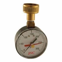 Jones Stephens™ J66301 Water Test Gauge With Indicator Arm, 300 psi, 3/4 in Female Hose Connection, 2-1/2 in Dial
