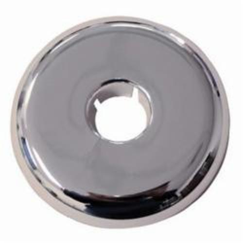 Jones Stephens™ F06125 Flexible Floor and Ceiling Plate, 1-1/4 in IPS x 1-1/2 in CTS Thread, Plastic, Polished Chrome
