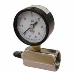 Jones Stephens™ G64030 Gas Test Gauge Assembly, 30 psi, Steel, No Liquid Filled