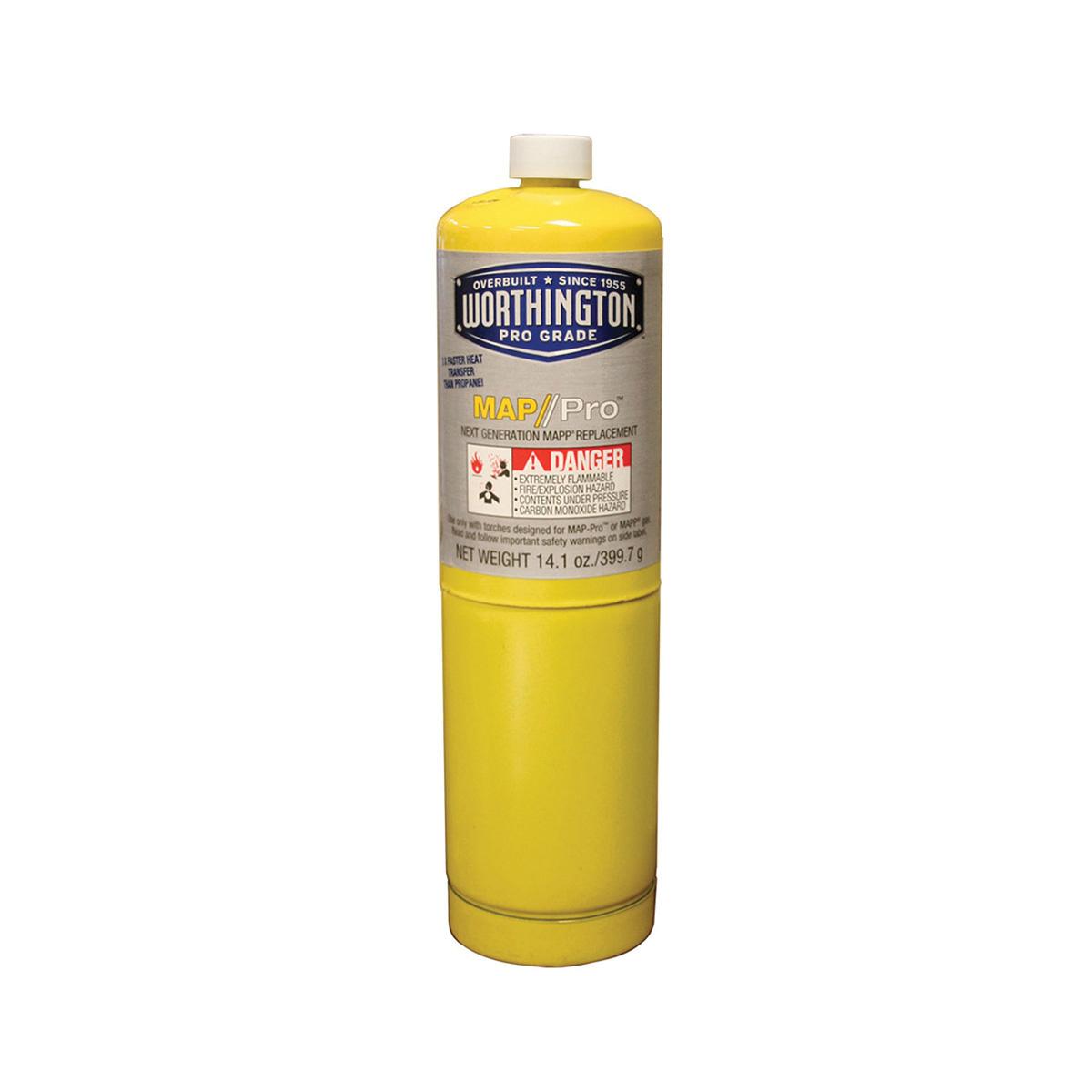 Jones Stephens™ PlumBest™ J40600 Flammable Gas Cylinder, 14.1 oz MAPP Gas