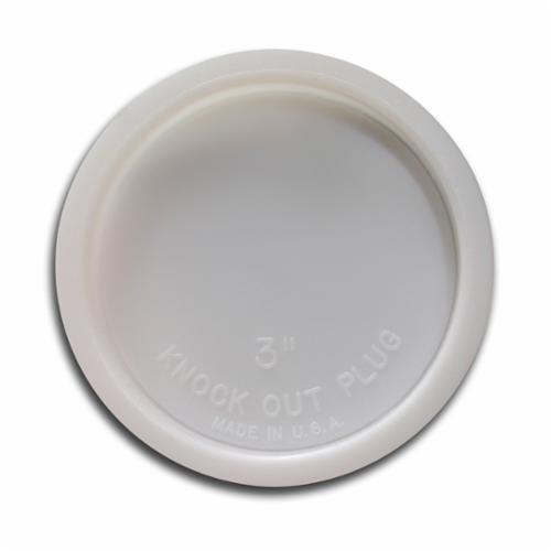 Jones Stephens™ PlumBest™ LTConnections™ T33003 Knockout Test Cap, PVC, Domestic