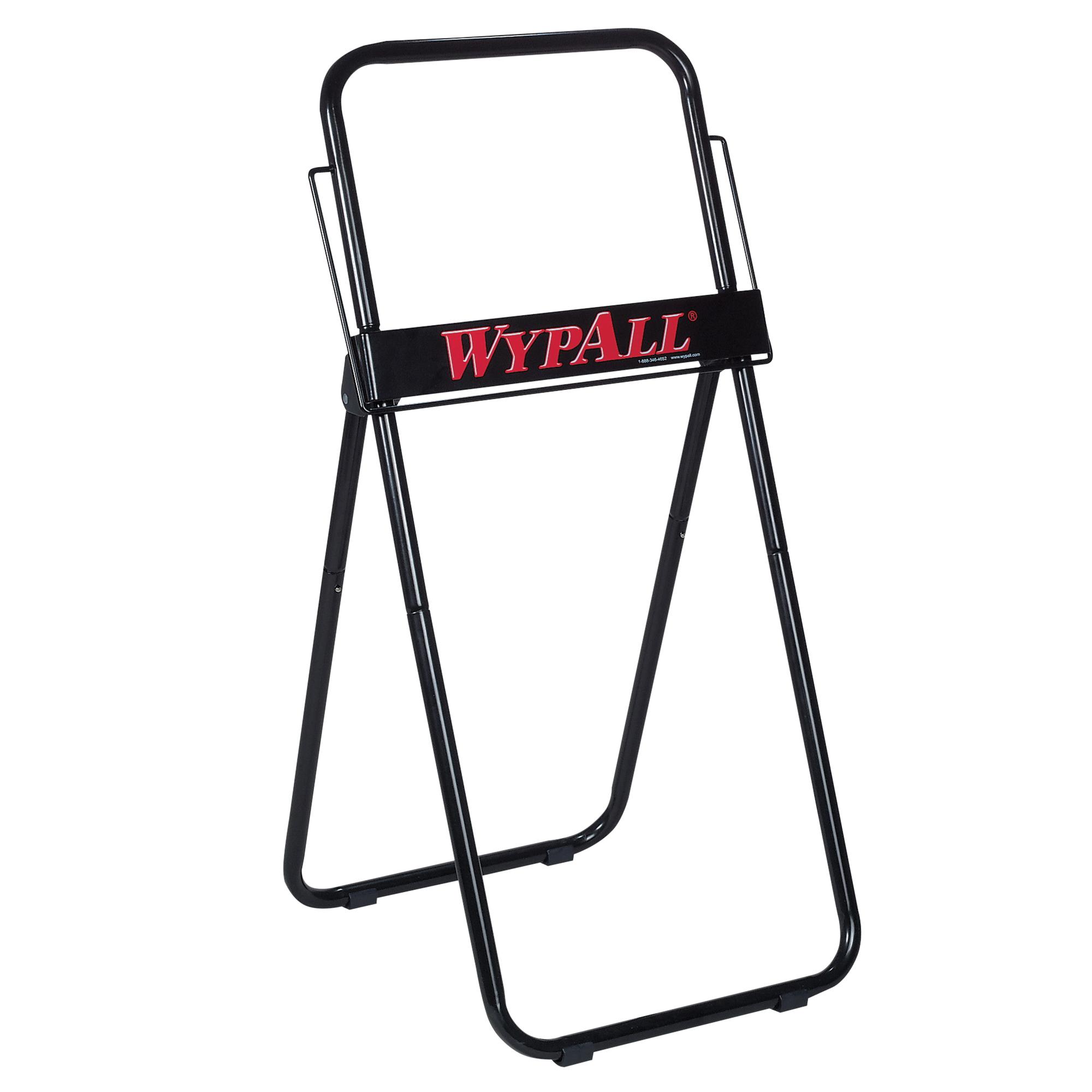 WypAll* 80579 Jumbo Roll Dispenser, 8.8 in OAL, Wall Mount, Metal, Black