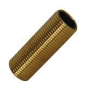 Kissler 43-0005 Nipple, For Use With American Standard, 9/16-20, Brass