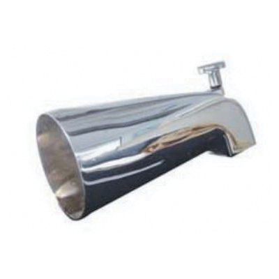 Kissler 82-0011 Diverter Tub Spout, For Use With Universal Fit Sink, Tub and Drain, 1/2 in IPS Nose