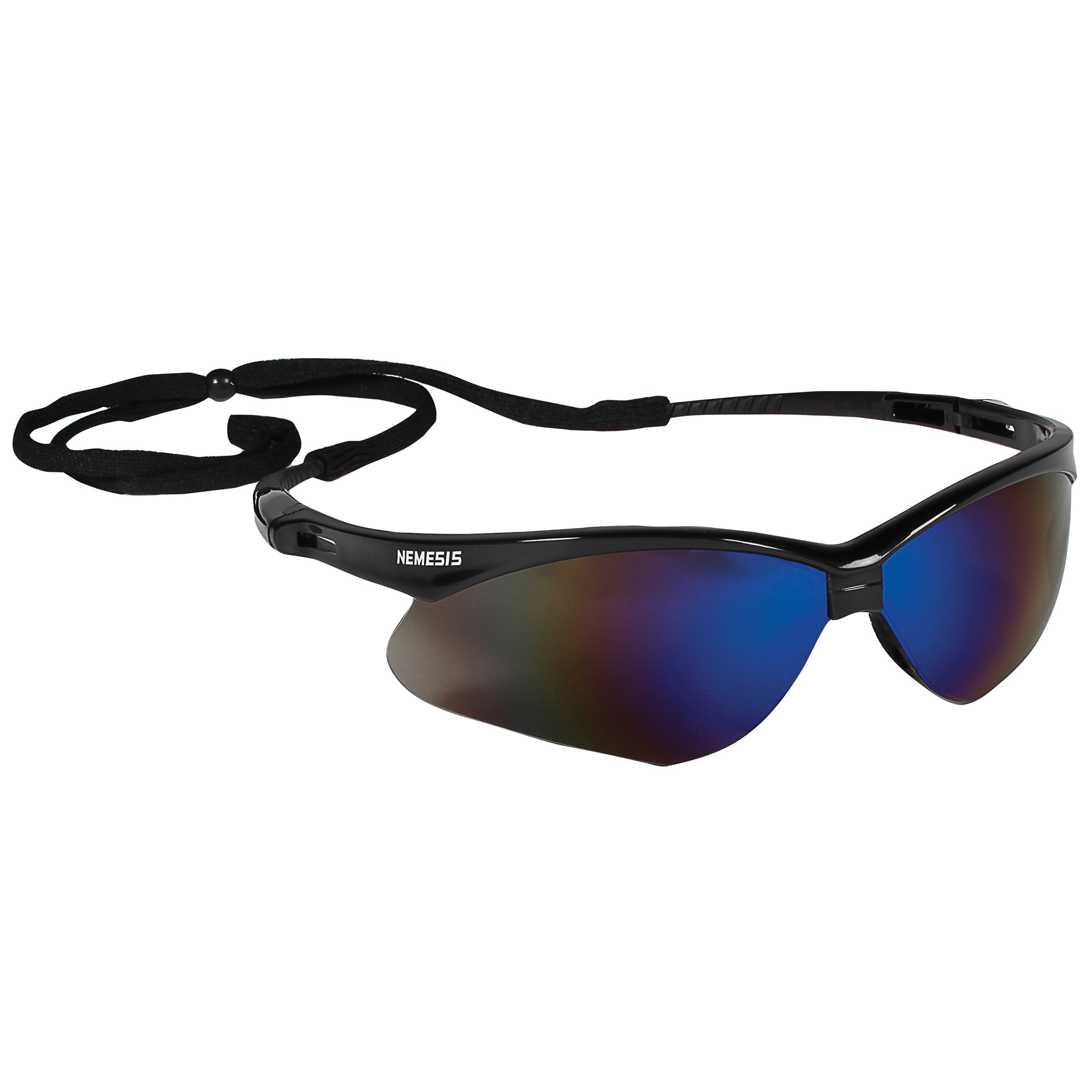 Jackson Safety* 14480 V20 Envision* Safety Glasses, Anti-Scratch, Indoor/Outdoor Lens, Wrap Around Frame, Black, Polycarbonate Frame, Polycarbonate Lens, ANSI Z87.1+2010