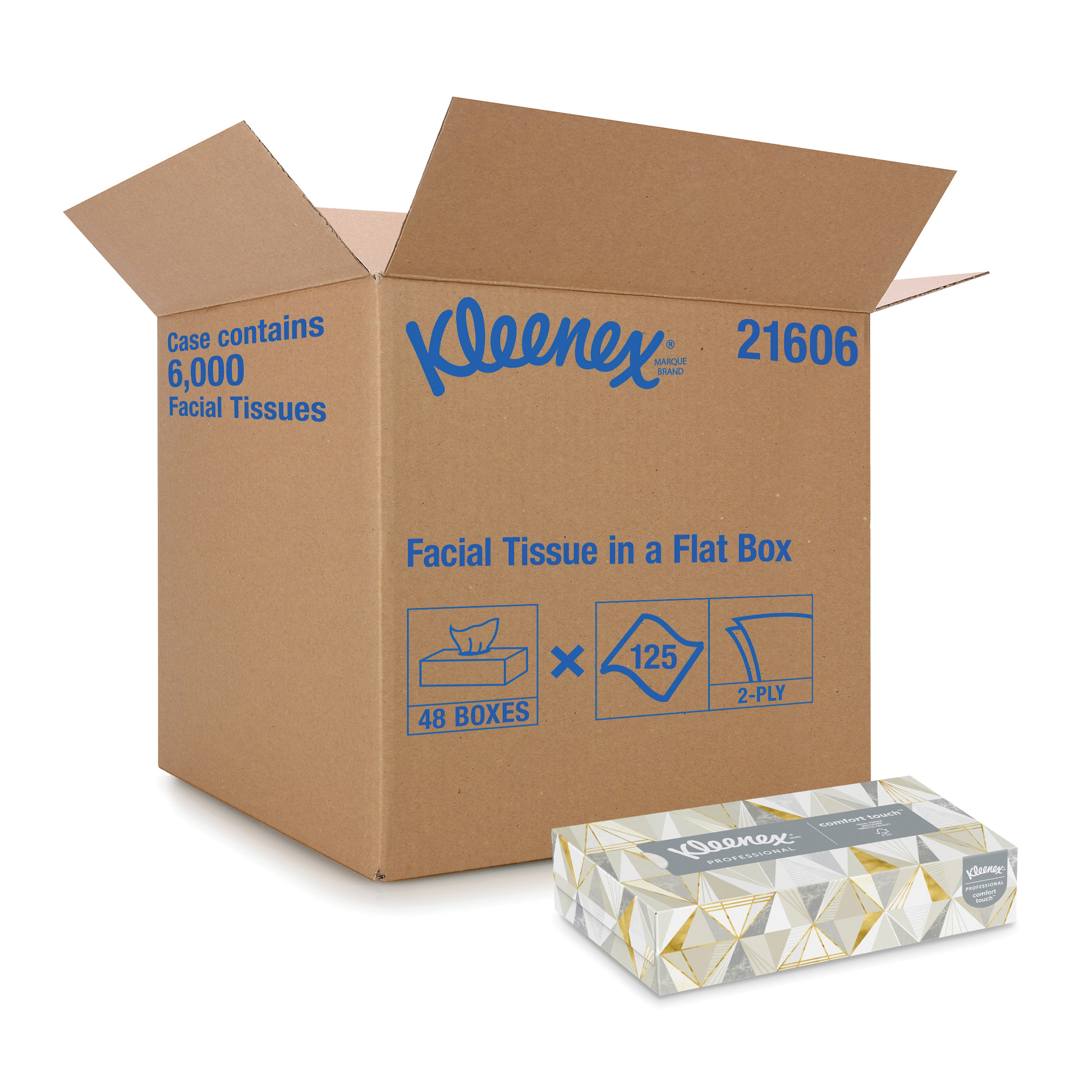 Scott® SURPASS* 21340 Recycled Facial Tissue, 100 Sheets Capacity, Paper, White